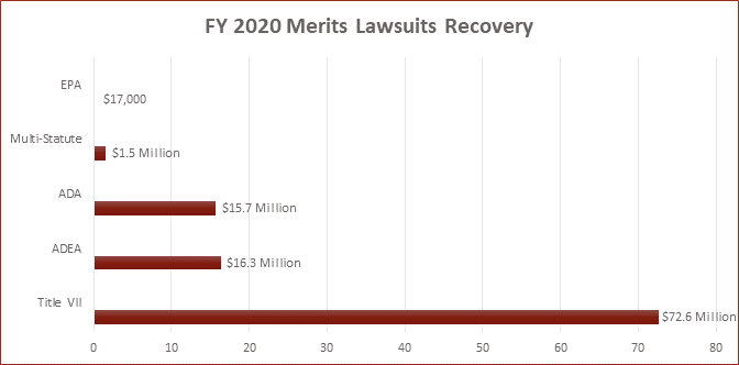 FY 2020 Merit Lawsuits Recovery