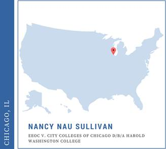 Nancy Nua Sullivan, EEOC v. City Colleges of Chicago d/b/a Harold Washington College