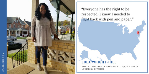 Lula Wright-Hill, EEOC v. Coatesville Kitchen, LLC d/b/a Popeyes Louisiana Kitchen