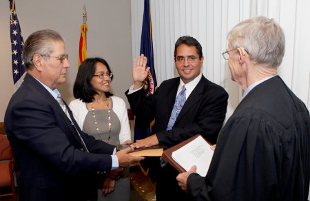 Swearing in of P. David Lopez as General Counsel of EEOC