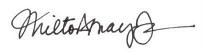 Signature Milton Mayo