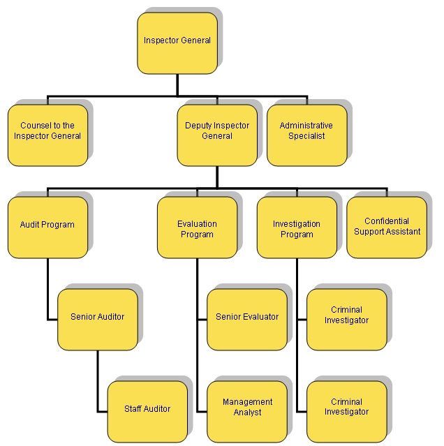 Office of Inspector General Organization Chart