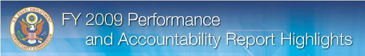 2009 Performance and Accountability Report Highlights