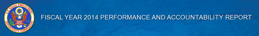 FY 2014 Performance and Accountability Report