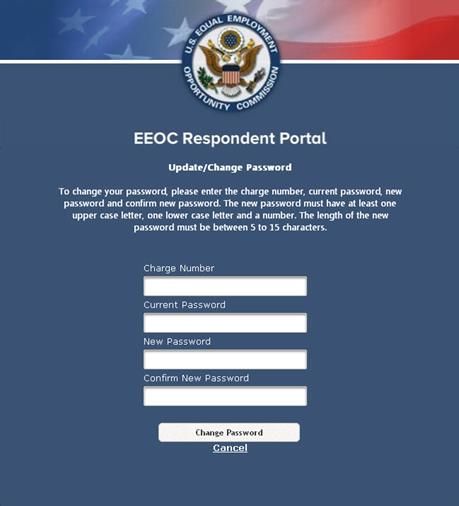 EEOC Respondent Portal User's Guide
