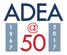 ADEA 50th Anniversary