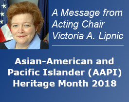 Asian American and Pacific Islander (AAPI) Heritage Month 2018