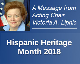 Hispanic Heritage Month 2018