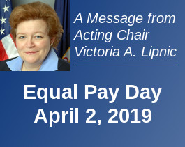Equal Pay Day, April 2, 2019