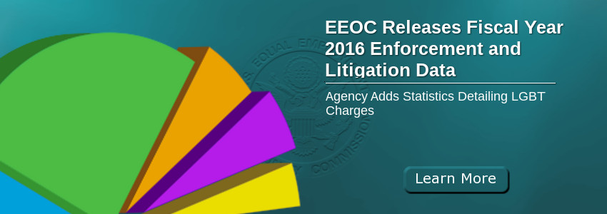 EEOC Releases Fiscal Year 2016 Enforcement and Litigation Data