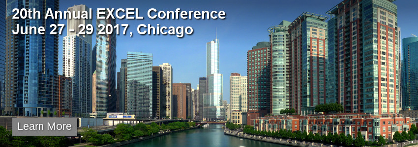 20th Annual EXCEL Conference in Chicago