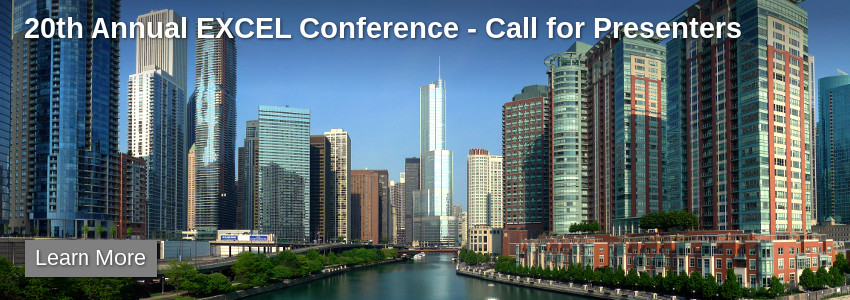 20th Annual EXCEL Conference - Call for Presenters