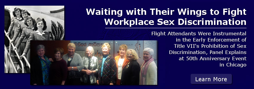 Waiting with Their Wings to Fight Workplace Sex Discrimination