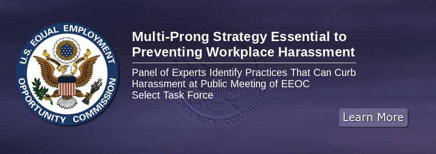 Multi-Prong Strategy Essential to Preventing Workplace Harassment