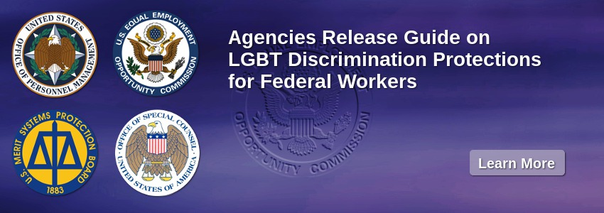 Agencies Release Guide on LGBT Discrimination Protections for Federal Workers