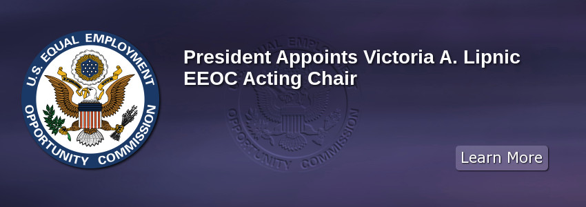 President Appoints Victoria A. Lipnic EEOC Acting Chair