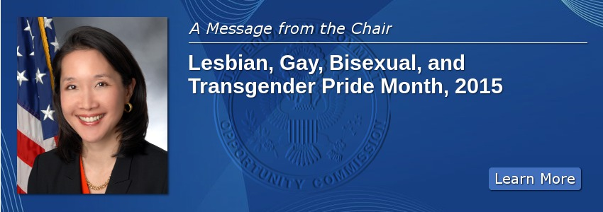 Lesbian, Gay, Bisexual, and Transgender Pride Month, 2015