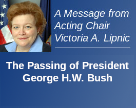 Statement of EEOC Acting Chair Lipnic on the Passing of President George H.W. Bush