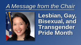 Lesbian, Gay, Bisexual and Transgender Pride Month